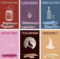 #TVD The Vampire Diaries Stefan,Elena,Damon,Caroline,Tyler & Bonnie