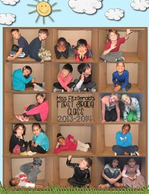 Photo(s) de classe originale(s) ! - Bits of First Grade - Abschiedsgeschenk End Of School Year, End Of Year, Beginning Of School, First Day Of School, First Grade Classroom, Classroom Fun, Classroom Displays, Future Classroom, Pre K Graduation