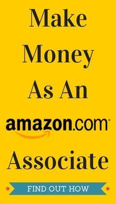 Make Money As An Amazon Associate See more here/ http://www.affiliatmarketing2015.blogspot.com