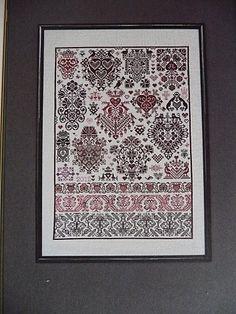 Cranston - one of 10 designs found in the book l'Arbre de Noe by Julia LIne