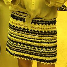 Vanessa crochet skirt