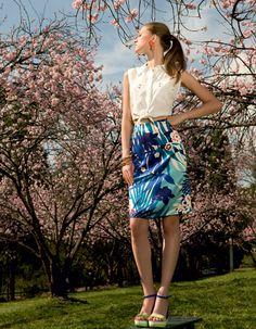 Nesta primavera, a estampa aparece para todos os estilos - Moda, Beleza, Estilo, Customizaçao e Receitas - Manequim - Editora Abril - Foto: Lamb Taylor