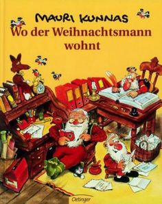 Wo der Weihnachtsmann wohnt: Amazon.de: Mauri Kunnas: Bücher Video Game, Comic Books, Comics, Reading, Artwork, Christmas, Shopping, Magick, Bebe
