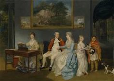 Johan Zoffany 'Colonel Blair with his Family and an Indian Ayah', 1786