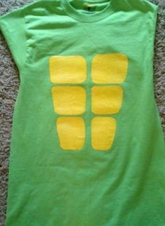 DIY Ninja Turtle shirt