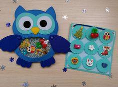 Owl I Spy Bagquiet book Find Game Eye Spy Game