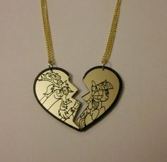 Discord & Twilight Necklace Set My Little Pony by Miyuka on Etsy, $16.00
