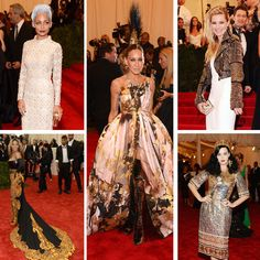 """Last night, the Metropolitan Museum of Art in New York hosted the 2013 Met Gala. This year's theme was """"Punk: From Chaos To Couture."""" For many celebrities, this was the first time they had used the word """"punk"""" in a sentence that wasn't """"Have my assistant get me Daft Punk tickets."""""""