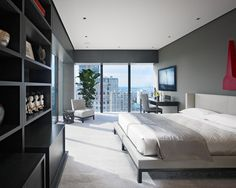 Modern Grey Quilt Design, Pictures, Remodel, Decor and Ideas