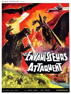 Destroy All Monsters 怪獣総進撃 (1968) (France)