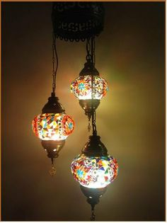 Turkish style mosaic lighting ligihting pinterest mosaics 3 ball 110 230v turkish moroccan hanging glass mosaic sultan chandelier lamp lighting aloadofball Image collections