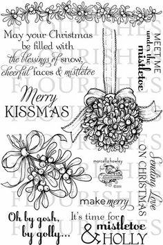 Flourishes Meet Me Under The Mistletoe