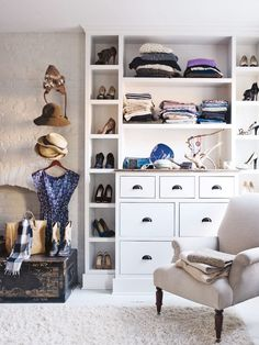 Here's how to declutter, categorize, and color code.