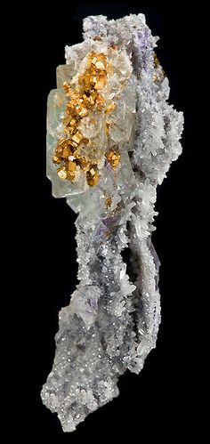 Fluorite Pyrite, Norway
