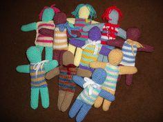 Crochet Colorful Dolls