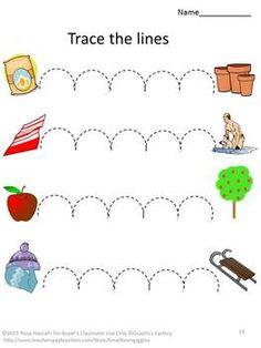 fine motor skills tracing activities preschool special ed back to school - Tracing Activities For Kids