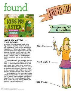 Kiss my Aster! - Leaf Magazine Autumn 2012  - www.leafmag.com