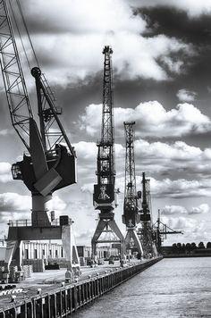 Past bij het industriële beeld van Rotterdam wat ik ook wil laten zien.