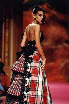 Christian Lacroix F/W 1991/'92 #runway