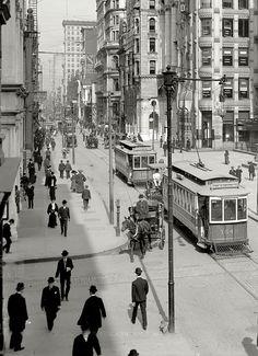 Philadelphia circa 1906.