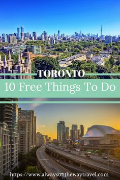 Toronto, the largest city in Canada has so much to offer. Apart from CN Tower and aquarium, here are fun and unique things to do in Toronto that do not cost you anything.