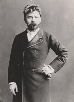 "Arthur Nikisch (1855–1922), was a Hungarian conductor. He was considered an outstanding interpreter of the music of Bruckner, Tchaikovsky, Beethoven and Liszt. Brahms praised Nikisch's performance of his Fourth Symphony as ""quite exemplary, it's impossible to hear it any better"". His legacy is as one of the founders of modern conducting, with deep analysis of the score, a simple beat, and a charisma that let him bring out the full sonority of the orchestra and plumb the depths of the music."