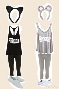 Going to do this for Halloween with my best friend!