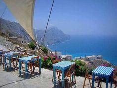 On top of Olympus village of Karpathos and the infinite blue φωto byGeorgia Sevdali