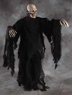 Capes Coats and Cloaks 155345: Deluxe Rotting Black Gown Robe Undead Zombie Monster Cape Cloak Adult Halloween -> BUY IT NOW ONLY: $54.95 on eBay!