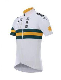 698afb9760 2018 Men s Australia Short Sleeve Cycling Jersey by Santini