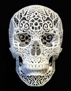 humanoides fr impression 3d joshua harker crania revolutis 1 Les plus belles pièces de Joshua Harker seront au 3D Printshow