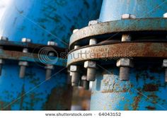 industrial blue