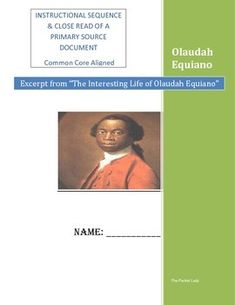 essay about olaudah equiano