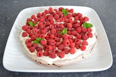 Chocolate Berry Pavlova. Find the recipe at