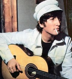 John Lennon, pre 70s but I had a crush on him as well the way he was in the 60s