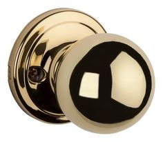 Kwikset 967CA-S Circa Knob Double Cylinder Interior Pack with Smart Key Polished Brass Handleset Interior Pack Double Cylinder