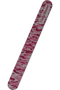 Επαγγελματική λίμα νυχιών, 2πλής όψης από την Sally Hansen, σε σχέδιοPink Camouflage.