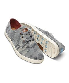 e60ecb468961 Camo Canvas Paseos by TOMS  zulilyfinds Cheap Toms Shoes