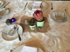 Proteas and other vynbos. Christmas 2016, African, Table Decorations, Home Decor, Decoration Home, Room Decor, Home Interior Design, Dinner Table Decorations, Home Decoration