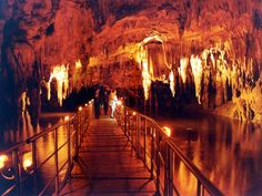 The Cave Springs of Aggiti River near #Kavala #Greece http://www.house2book.com