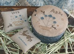 Annes Pinkeep box. By Olde Threads