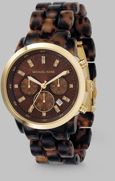 0d1544c785a Tartaruga Chronograph Watch Michael Kors Outlet