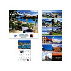2017 Custom Island Calendars. Destination Tropical Dreams Countries Series custom printed promotional Variety 13 month 2017 Calendars. Great gift for Travel Agents and Agencies, Cruise Ships, Gift Shops, and Holidays! New 2017 wholesale discount Calendars available NOW!  DES6273 http://www.alphapromoworld.com/office-products/2017-custom-printed-calendars/2017-custom-country-calendars/cat_273.html Miami, FL