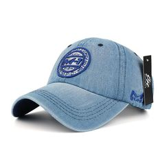 a2987f7479049 High Quality Denim Classic Caps