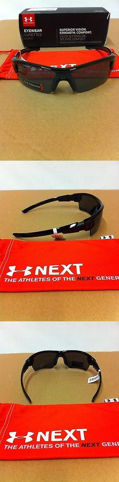 Sunglasses 131411: Under Armour Menace Youth Shiny Black Grey Multi Sunglasses Make Offers -> BUY IT NOW ONLY: $65 on eBay!
