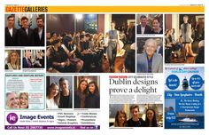 """""""Check out our gallery of the Academy graduate fashion show which took place in the city recently. Gazette Newspaper, Pvc Banner, Dublin Bay, City Style, Trade Show, Embedded Image Permalink, Shots, Let It Be, Movie Posters"""