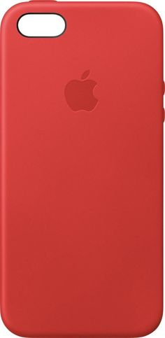 Apple - iPhone® SE/5s/5 Leather Case - (Product)RED