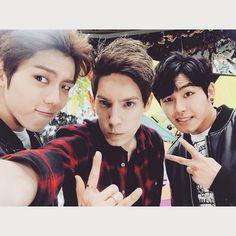 Dongwoo, Fabian, Hoya