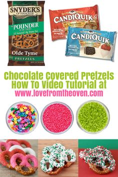 How To Make Chocolate Covered Pretzels With Video Tutorial.