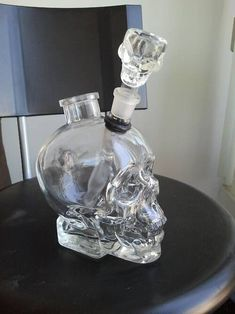 Skull bong anyone?! More cool bongs over at http://www.thinkbongs.com